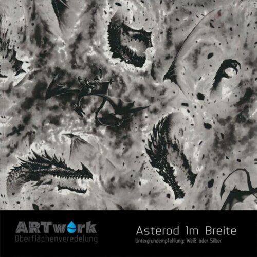 ARTwork, Wassertransferdruck, Folie Asterod, 1m Breite