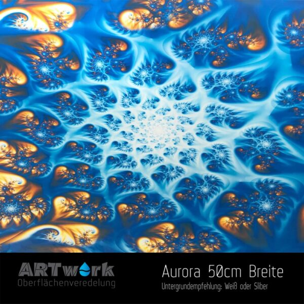 ARTwork, Wassertransferdruck, Folie Aurora, 50cm Breite