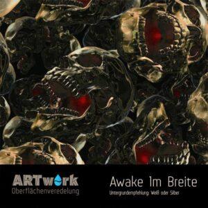 ARTwork, Wassertransferdruck, Folie Awake, 1m Breite