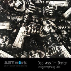 ARTwork, Wassertransferdruck, Folie Bad Ass, 1m Breite