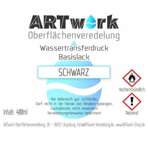 ARTwork Basislack SCHWARZ