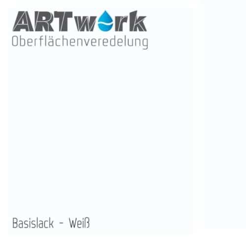 ARTwork Basislack WEIß