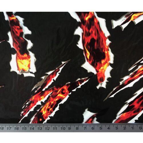 ARTwork, Wassertransferdruck, Folie Breakdown, 1m Breite