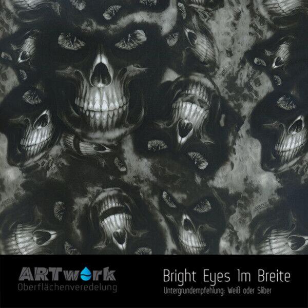 ARTwork, Wassertransferdruck, Folie Bright Eyes, 1m Breite