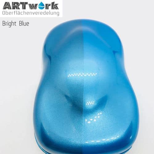Effektlack Bright Blue 1 liter Artwork