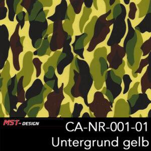 MST-Design, Wassertransferdruck, Camouflage, Folie CA-NR-001-01, Untergrund gelb
