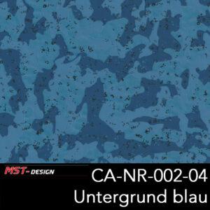 MST-Design, Wassertransferdruck, Camouflage, Folie CA-NR-002-04, Untergrund blau