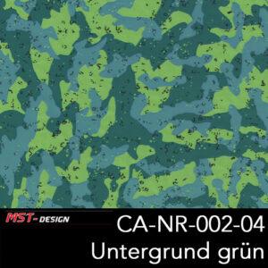 MST-Design, Wassertransferdruck, Camouflage, Folie CA-NR-002-04, Untergrund grün