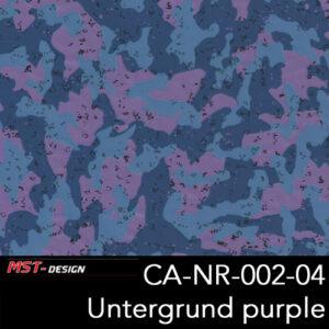 MST-Design, Wassertransferdruck, Army Style, Folie CA-NR-002-04, Untergrund purple