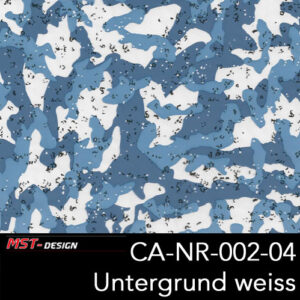 MST-Design, Wassertransferdruck, Army Style, Folie CA-NR-002-04, Untergrund weiß