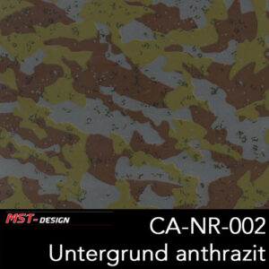 MST-Design, Wassertransferdruck, Camouflage, Folie CA-NR-002, Untergrund anthrazit