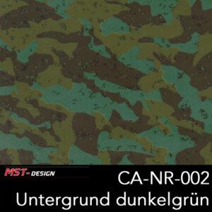 MST-Design, Wassertransferdruck, Camouflage, Folie CA-NR-002, Untergrund dunkelgrün