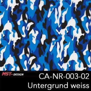 MST-Design, Wassertransferdruck, Army Style, Folie CA-NR-003-02, Untergrund weiß