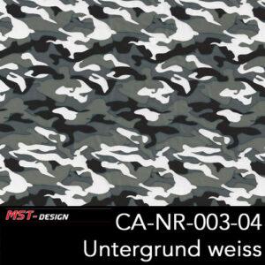 MST-Design, Wassertransferdruck, Army Style, Folie CA-NR-003-04, Untergrund weiß