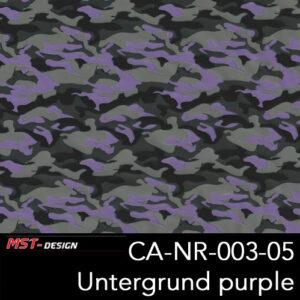 MST-Design, Wassertransferdruck, Army Style, Folie CA-NR-003-05, Untergrund purple