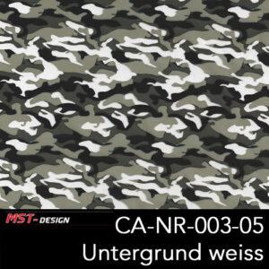 MST-Design, Wassertransferdruck, Army Style, Folie CA-NR-003-05, Untergrund weiß