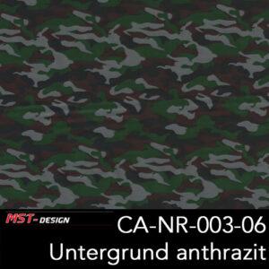 MST-Design, Wassertransferdruck, Army Style, Folie CA-NR-003-06, Untergrund anthrazit