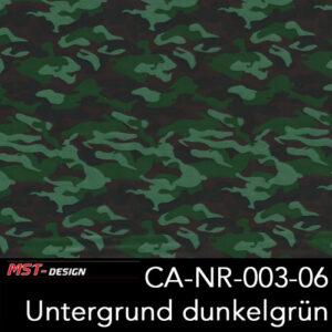 MST-Design, Wassertransferdruck, Army Style, Folie CA-NR-003-06, Untergrund dunkelgrün