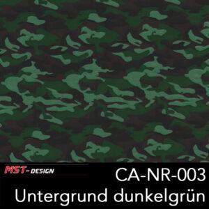 MST-Design, Wassertransferdruck, Army Style, Folie CA-NR-003, Untergrund dunkelgrün