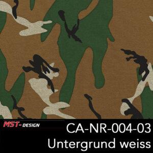 MST-Design, Wassertransferdruck, Army Style, Folie CA-NR-004-03, Untergrund weiß
