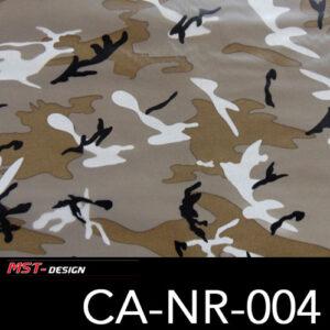 MST-Design, Wassertransferdruck, Army Style, Folie CA-NR-004
