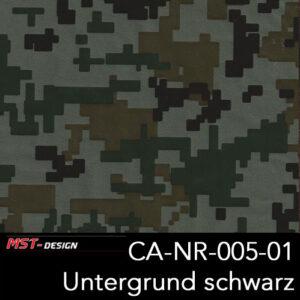 MST-Design, Wassertransferdruck, Army Style, Folie CA-NR-005-01, Untergrund schwarz