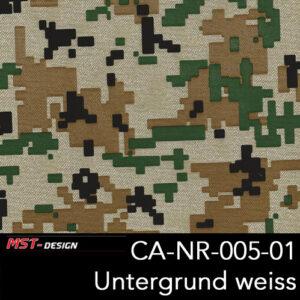 MST-Design, Wassertransferdruck, Army Style, Folie CA-NR-005-01, Untergrund weiß