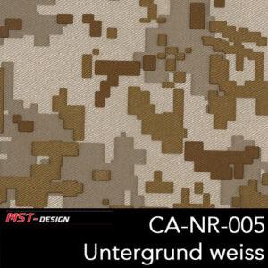MST-Design, Wassertransferdruck, Army Style, Folie CA-NR-005, Untergrund weiß