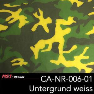 MST-Design, Wassertransferdruck, Army Style, Folie CA-NR-006-01, Untergrund weiß