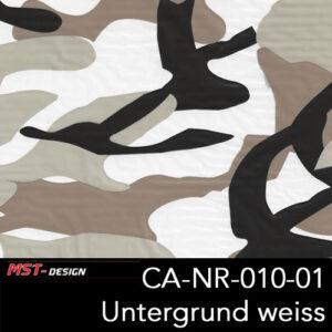 MST-Design, Wassertransferdruck, Army Style, Folie CA-NR-010-01, Untergrund weiß