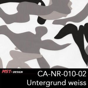 MST-Design, Wassertransferdruck, Army Style, Folie CA-NR-010-02, Untergrund weiß