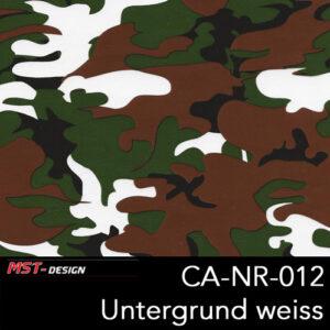 MST-Design, Wassertransferdruck, Army Style, Folie CA-NR-012, Untergrund weiß