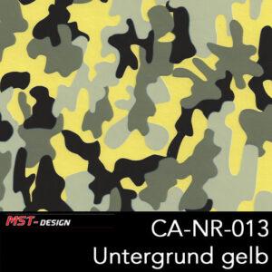 MST-Design, Wassertransferdruck, Camouflage, Folie CA-NR-013, Untergrund gelb