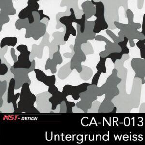 MST-Design, Wassertransferdruck, Camouflage, Folie CA-NR-013, Untergrund weiß