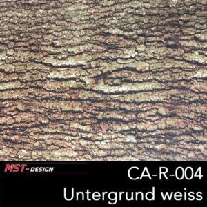 MST-Design, Wassertransferdruck, Holz , Folie CA-R-004, Untergrund weiß