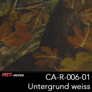 MST-Design, Wassertransferdruck, Camouflage, Folie CA-R-006-01, Untergrund weiß