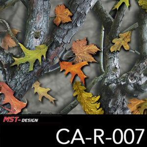 MST-Design, Wassertransferdruck, Camouflage, Folie CA-R-007