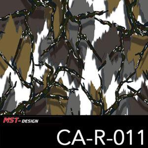 MST-Design, Wassertransferdruck, Camouflage, Folie CA-R-011
