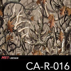 MST-Design, Wassertransferdruck, Camouflage Bäume, Folie CA-R-016