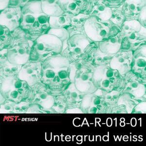 MST-Design, Wassertransferdruck, Folie CA-R-018-01, Untergrund weiß