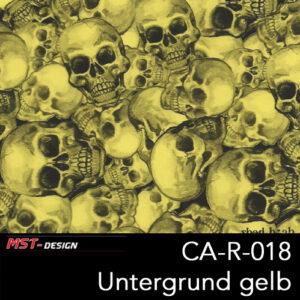 MST-Design, Wassertransferdruck, Folie CA-R-018, Untergrund gelb