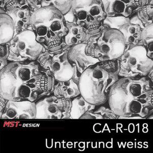 MST-Design, Wassertransferdruck, Folie CA-R-018, Untergrund weiß
