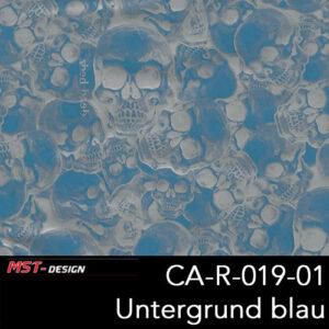 MST-Design, Wassertransferdruck, Folie CA-R-019-01, Untergrund blau