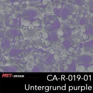 MST-Design, Wassertransferdruck, Folie CA-R-019-01, Untergrund purple
