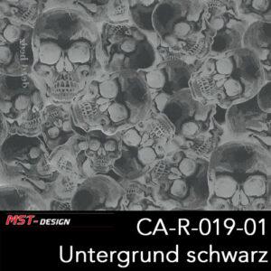 MST-Design, Wassertransferdruck, Folie CA-R-019-01, Untergrund schwarz