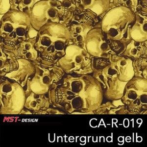MST-Design, Wassertransferdruck, Folie CA-R-019, Untergrund gelb
