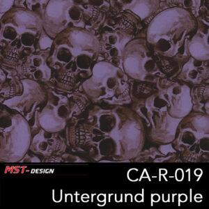 MST-Design, Wassertransferdruck, Folie CA-R-019, Untergrund purple