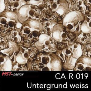 MST-Design, Wassertransferdruck, Folie CA-R-019, Untergrund weiß