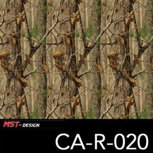 MST-Design, Wassertransferdruck, Camouflage Bäume, Folie CA-R-020