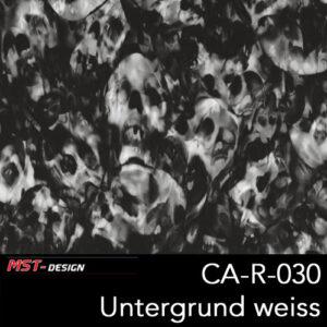 MST-Design, Wassertransferdruck, Folie CA-R-030, Untergrund weiß